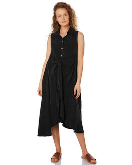 BLACK WOMENS CLOTHING SANCIA DRESSES - 845A_BLK