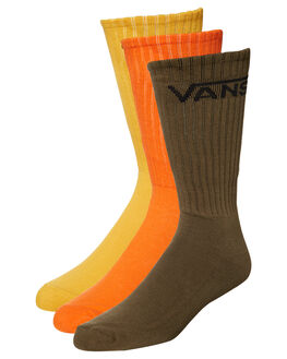 MINERAL YELLOW ASS MENS ACCESSORIES VANS SOCKS + UNDERWEAR - VN00XSEO9PMIYEL