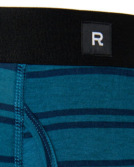 TEAL MENS CLOTHING RICHER POORER SOCKS + UNDERWEAR - MMB-CLRK06TEAL