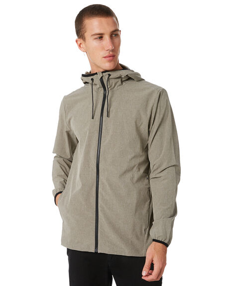 DARK STUCCO MENS CLOTHING HURLEY JACKETS - 931744004