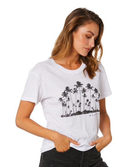 WHITE WOMENS CLOTHING HURLEY TEES - CZ2724100
