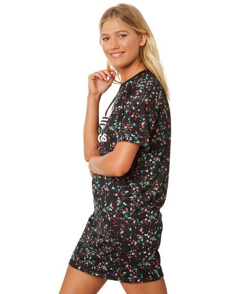 MULTI WOMENS CLOTHING ADIDAS DRESSES - DH4271MUL