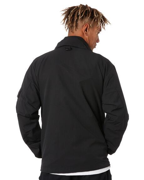 BLACK MENS CLOTHING CARHARTT JACKETS - I02602289