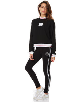 BLACK WOMENS CLOTHING STUSSY ACTIVEWEAR - ST175605BLK
