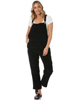 BLACK CORD WOMENS CLOTHING RUE STIIC PLAYSUITS + OVERALLS - SW-20-02-4-CD-B16BLK