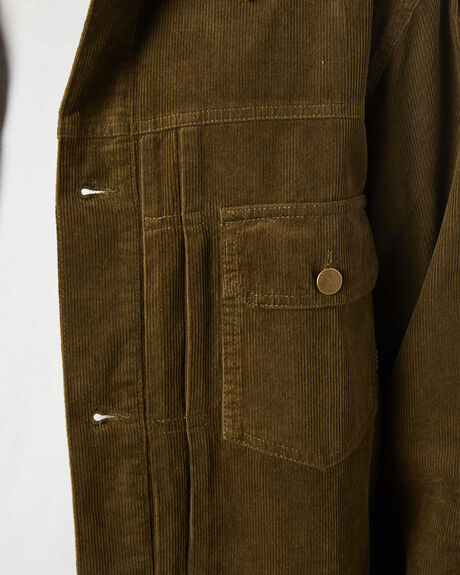 DARK OLIVE MENS CLOTHING SWELL JACKETS - S5204381DKOLV