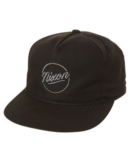 ALL BLACK MENS ACCESSORIES NIXON HEADWEAR - C2840001