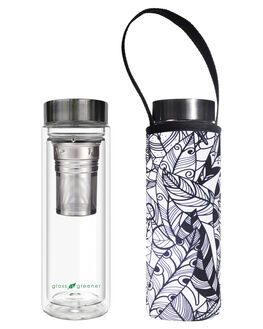 FEATHER WOMENS ACCESSORIES GLASS IS GREENER DRINKWARE - GD-FTHRFTHR