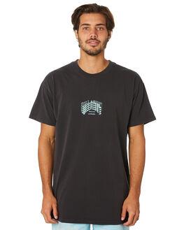 BLACK MENS CLOTHING BILLABONG TEES - 9595018BLK