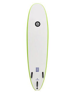 LIME SURF SOFTBOARDS GNARALOO GSI BEGINNER - GN-SOFT-0800-LM