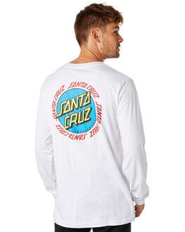WHITE MENS CLOTHING SANTA CRUZ TEES - SC-MLD8034WHT