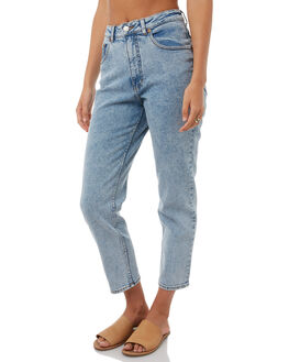 ICE BLUE WOMENS CLOTHING CHEAP MONDAY JEANS - 540155ICEBL