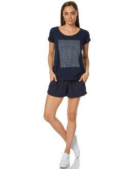 DRESS BLUES WOMENS CLOTHING ROXY SHORTS - ERJNS03103BTK0