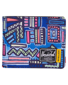 ABSTRACT GEO MENS ACCESSORIES HERSCHEL SUPPLY CO WALLETS - 10363-01991-OSABST