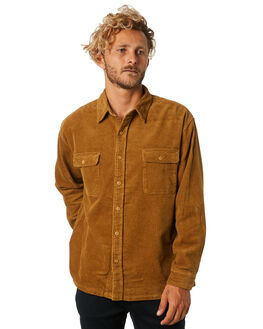 CAMEL MENS CLOTHING RUSTY SHIRTS - WSM0807CAM