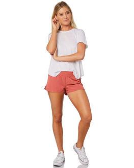 TERRACOTTA WOMENS CLOTHING RUSTY SHORTS - BSL0344TRC