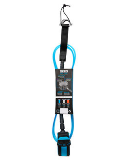 BLUE BLACK BOARDSPORTS SURF FCS LEASHES - ECOA-BUB-06FBLUBK