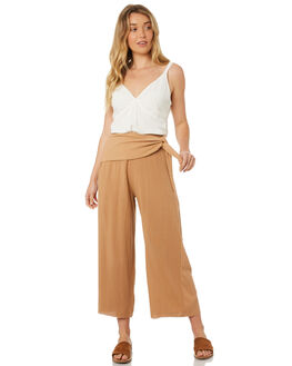 DUSTY PINK WOMENS CLOTHING RUE STIIC PANTS - WS18-08-DP-CDPINK