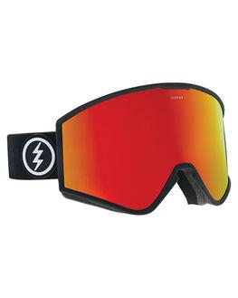 MATTE BLACK RED BOARDSPORTS SNOW ELECTRIC GOGGLES - EG2518100MBLKR