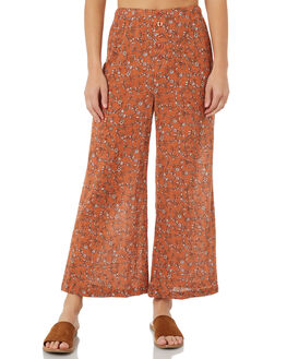 TAN WOMENS CLOTHING THE HIDDEN WAY PANTS - H8184192TAN
