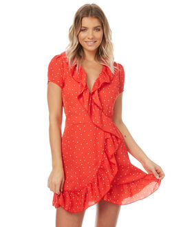 RED SPOT WOMENS CLOTHING REVERSE DRESSES - 3796-2RED