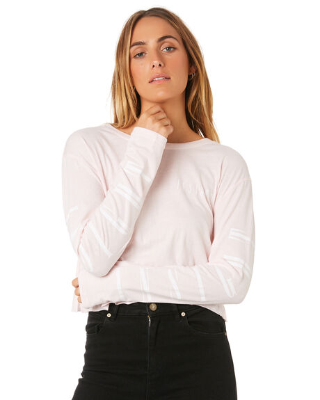 BABY PINK WOMENS CLOTHING INSIGHT TEES - 1000060417PNK