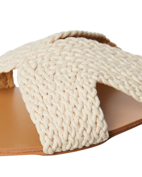 NATURAL WOVEN OUTLET WOMENS BILLINI FLATS - S598NATWV