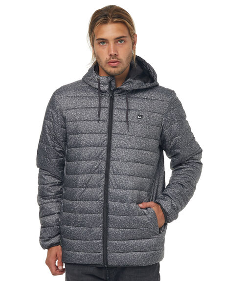 GREY HEATHER SCALY MENS CLOTHING QUIKSILVER JACKETS - EQYJK03234KYH6