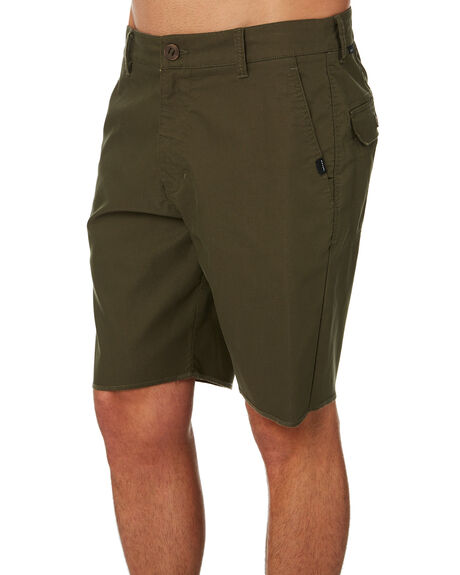 DARK OLIVE MENS CLOTHING RIP CURL SHORTS - CWAAT99389