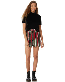 MULTI WOMENS CLOTHING AFENDS SKIRTS - W182903MUL