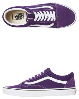 PURPLE WOMENS FOOTWEAR VANS SNEAKERS - SSVNA4BV5V7FW