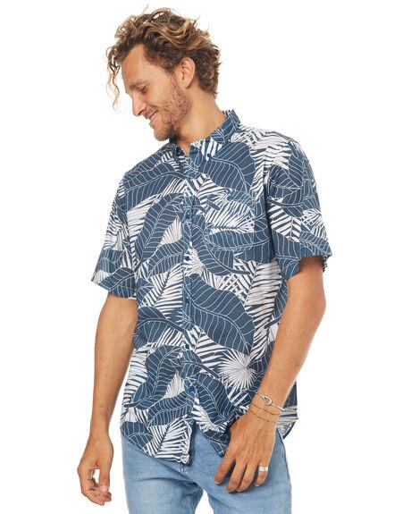 NAVY MENS CLOTHING EZEKIEL SHIRTS - ES171041NVY