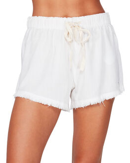 WHITE WOMENS CLOTHING BILLABONG SHORTS - BB-6591276-WHT