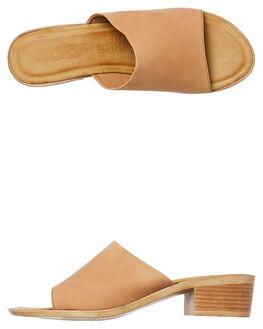 TAN WOMENS FOOTWEAR ROC BOOTS AUSTRALIA HEELS - MARNITAN