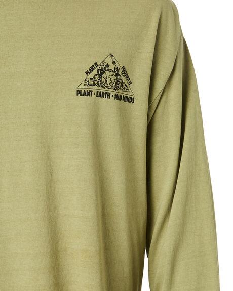 PIGMENT ARMY MENS CLOTHING MISFIT TEES - MT015013PGARM
