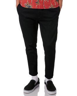 DIRTY BLACK MENS CLOTHING BANKS PANTS - PT0052DBL