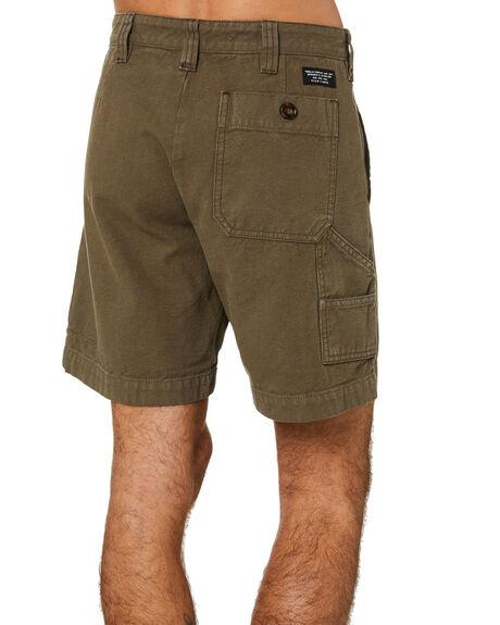 DARK OLIVE MENS CLOTHING THRILLS SHORTS - TS20-302FDKOLV