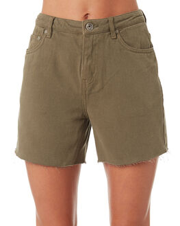 KHAKI WOMENS CLOTHING SILENT THEORY SHORTS - 6093127KHAK