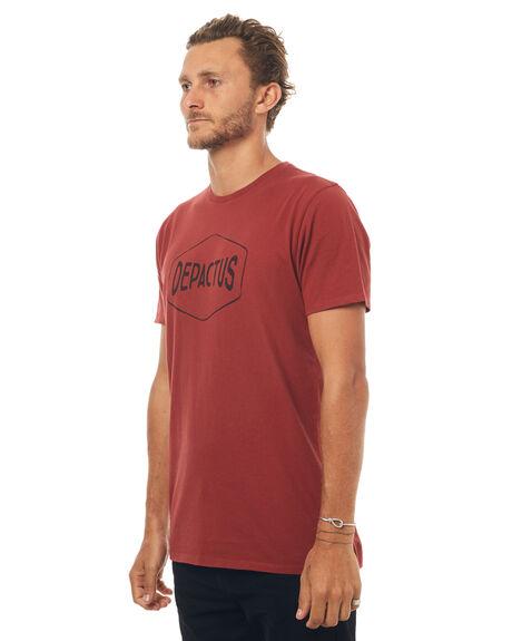 BRICK MENS CLOTHING DEPACTUS TEES - D5171001BRICK