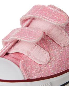 PINK KIDS GIRLS CONVERSE FOOTWEAR - 763550PINK
