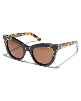 BLACK GOLD WOMENS ACCESSORIES PARED EYEWEAR SUNGLASSES - PE1201GBBLKGD