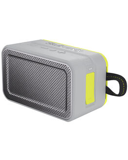GRAY CHARCOAL LIME MENS ACCESSORIES SKULLCANDY AUDIO + CAMERAS - S7PDW-J583GRY