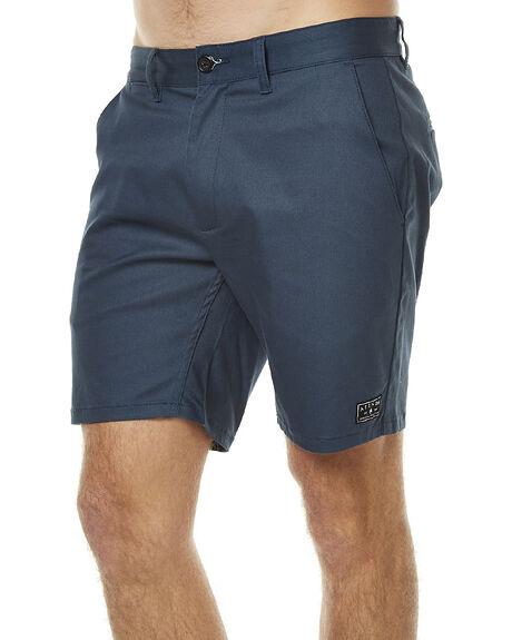 DEEP NAVY MENS CLOTHING AFENDS SHORTS - 09-07-008DNVY