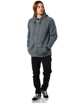 DARK GREY HEATHER MENS CLOTHING QUIKSILVER JUMPERS - EQYFT03893KTFH