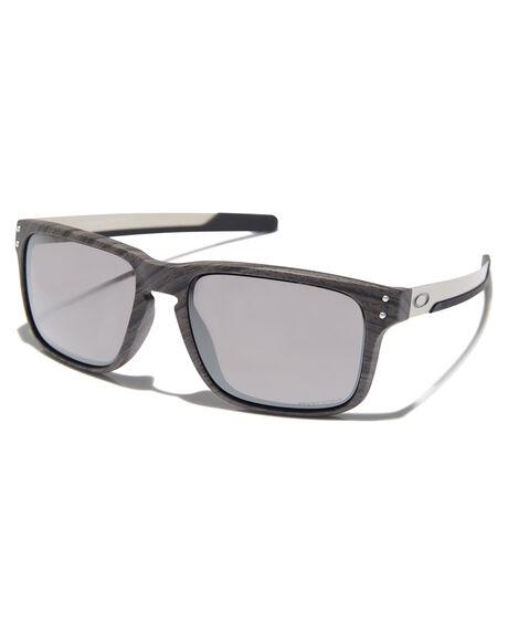 699bba1949b6 Oakley Holbrook Mix Sunglasses - Woodgrain Prizm | SurfStitch