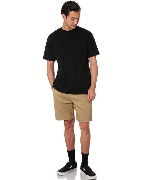 KHAKI MENS CLOTHING AS COLOUR SHORTS - 5909KHAK