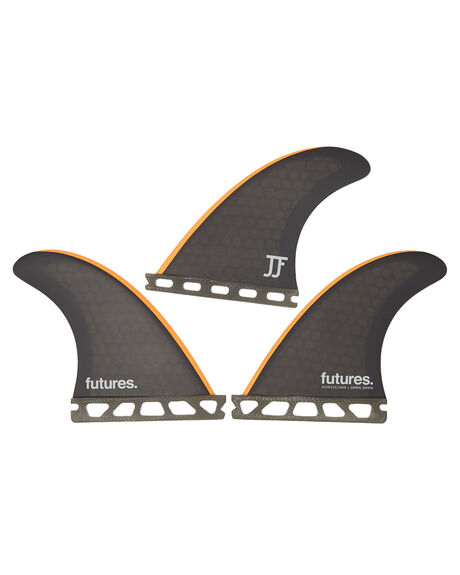BLACK ORANGE BOARDSPORTS SURF FUTURE FINS FINS - JJ-1054943BLKO