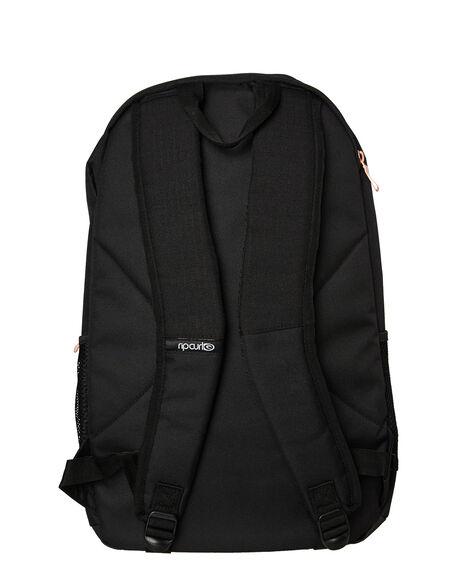 BLACK WOMENS ACCESSORIES RIP CURL BAGS + BACKPACKS - LBPKI10090