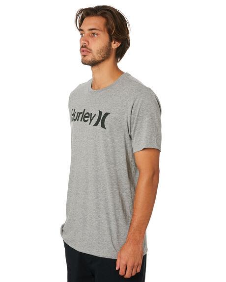 GREY HEATHER MENS CLOTHING HURLEY TEES - AH7935064