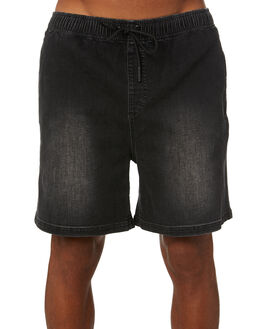 BLACK WASH MENS CLOTHING RUSTY SHORTS - WKM0983BCW